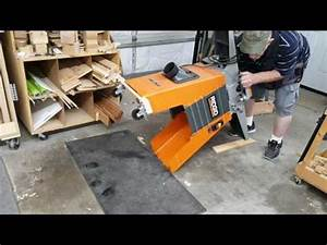 Make a Lift / Rolling Stand for Ridgid Jointer Doovi