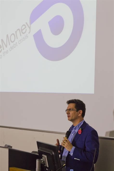 Stephen Career Politician by Clear Solution Proposed At Landmark Positive Money Conference Positive Money
