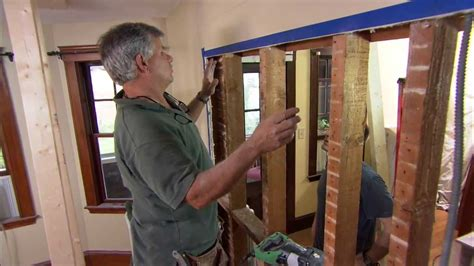 how to remove a load bearing interior wall how to remove a load bearing wall this house