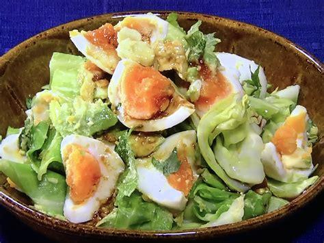 アボカド 卵 サラダ