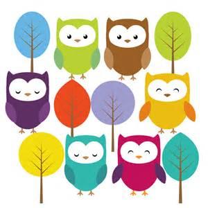 Cute Baby Owl Clip Art