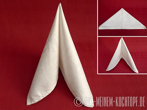 papierservietten falten bestecktasche servietten falten vom tafelspitz zur bestecktasche