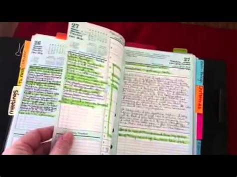 franklin covey classic planner youtube