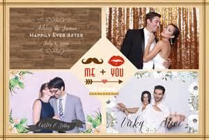 Wedding Photo Booth Templates