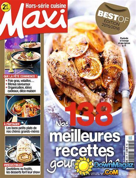 magazine maxi cuisine maxi hors série cuisine novembre décembre 2015 janvier 2016 no 26 pdf