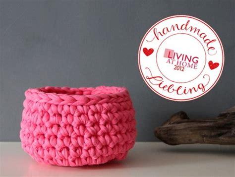 Korb Selber Nähen by H 228 Kel Ideen Zum Selbermachen Crochet Grobes H 228 Keln