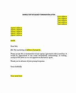 Contract Termination Letter Free 37 Agreement Letter Examples In Pdf Ms Word