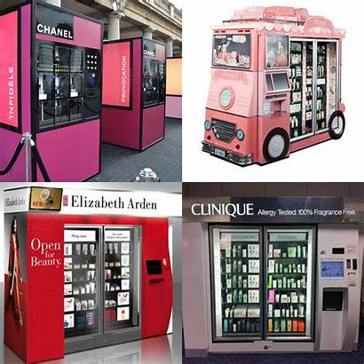 Vending Machines Cosmetic Beauty Collage Peeps Hey