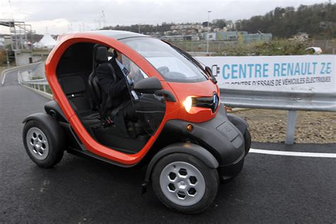car with no doors renault twizy no doors and a rented battery driver s