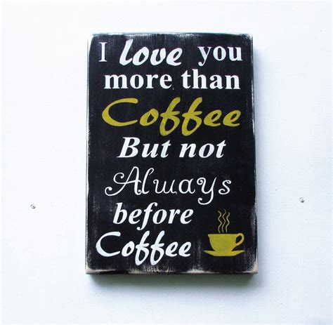 They gave my diy coffee sign that weathered appearance that people pay a lot of money for when shopping and just like that, i had a wonderful coffee sign for our kitchen. kitchen sign, coffee sign, Kitchen decor, funny coffee sign, primitive rustic sign, home decor ...