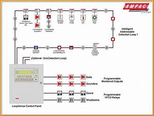 10 Addressable Fire Alarm System Wiring Diagram Car