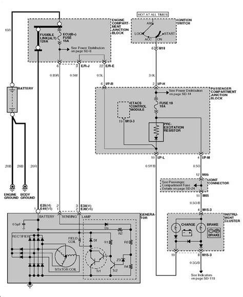 Free Wiring Diagram 2003 Hyundai Santum Fe by Repair Guides Engine Electrical 2002 Charging