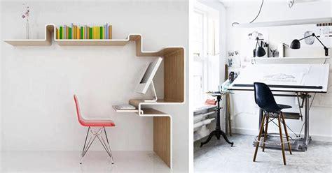 hauteur de bureau de travail la fabrique à déco aménager espace de travail à la maison
