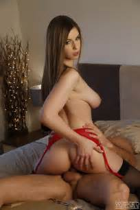 Tall Babe Is Wearing Red Lingerie Photos Stella Cox