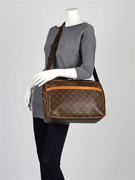 louis vuitton monogram canvas reporter gm bag yoogis closet