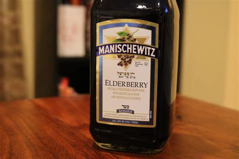 Manischewitz Elderberry - First Pour Wine