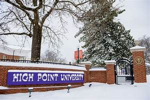 Campus Prepared for Blanket of Snow   High Point ...
