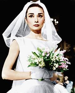 Photos of Audrey Hepburn's 3 Wedding Dresses | Brides