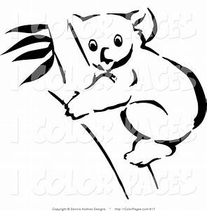 Best Photos of Koala Bear Outline - Koala Bear Clip Art ...