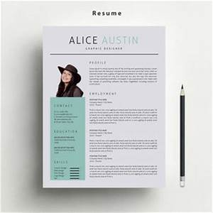 resume template with free matching cover from marufstudio With etsy resume template download free