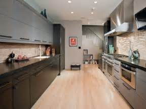 Shaped Kitchen Design Ideas Picture Idea Hgtv Galley Kitchen Design In Modern Living