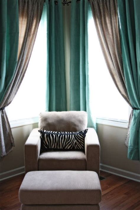 25 best ideas about corner curtains on corner