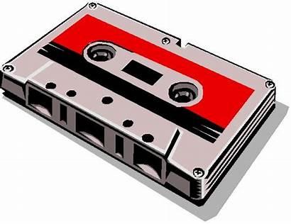 Cassette Tape Clipart Audio Transparent Tapes Background