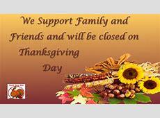 Closed Thanksgiving • Hingham Lumber Company