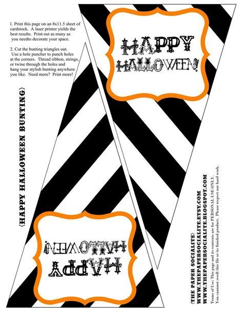 printable halloween free printables