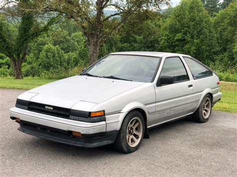 Toyota Corolla Ae86 For Sale by No Reserve 1985 Toyota Corolla Gt S Ae86 For Sale On Bat