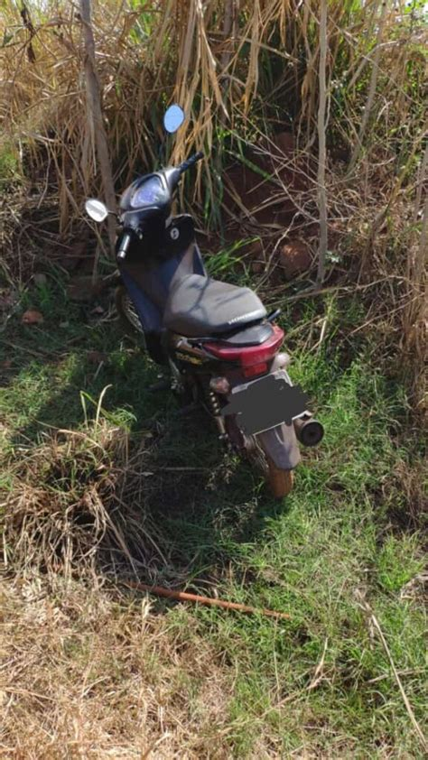 Polícia Militar recupera motoneta Honda/Biz, na cidade de ...