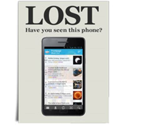 report lost phone stolen mobile free hd
