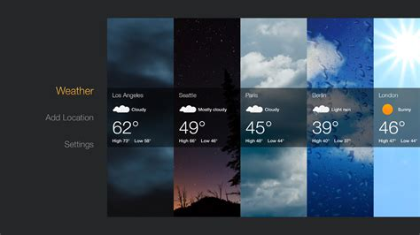 amazon releases official weather app   fire tv
