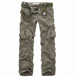 Combat Men's Cargo ARMY Cotton Pants Military Camouflage ...