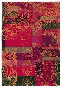 tapis contemporain rouge fusion balance brink campman With tapis contemporain rouge