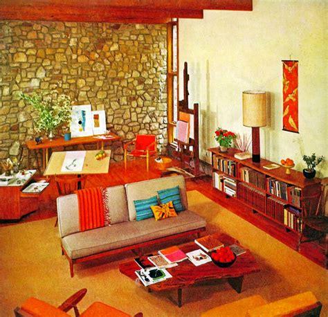 Retro Livingroom by Retro Living Room Ideas With Wooden Floor