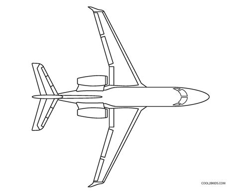 Coloring Airplane by Free Printable Airplane Coloring Pages For Cool2bkids