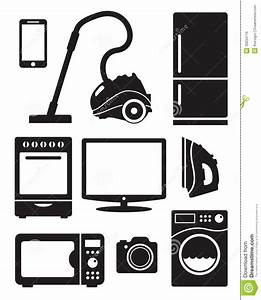 home appliances and electronics royalty free stock image With electronics homepage