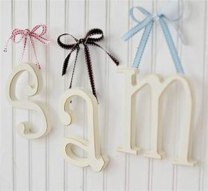 how to hang wooden letters levelings With hanging wooden letters