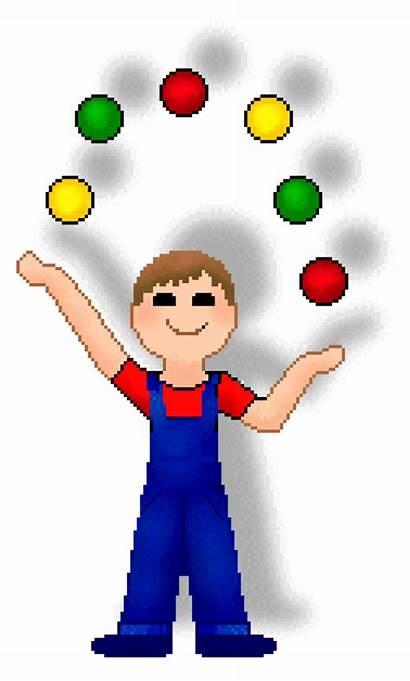 Juggling Clipart Balls Juggler Ball Clip Cliparts
