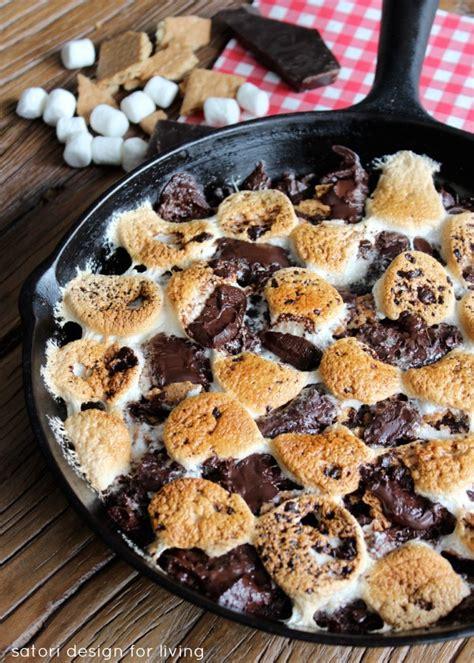 skillet desserts cing dessert skillet s more brownies satori design for living