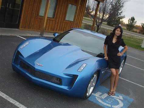 transformers corvette stingray concept replica