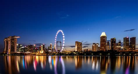 singapore cityscape photography desktop wallpaper