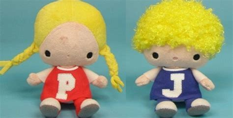 Katzwhiskas Patty & Jimmy Plush Soft Toy
