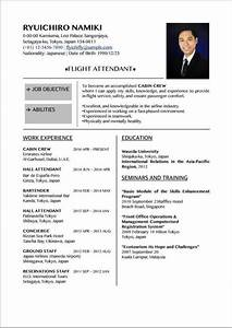 Simple resume in word