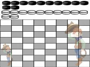 Printable Coupons Without Downloads Double Cowboy Printable Checkers Board Game