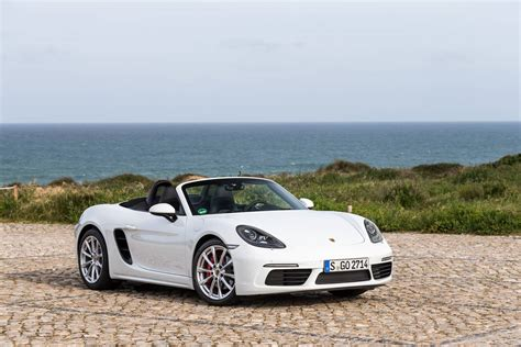 white porsche 2017 porsche 718 boxster review gtspirit