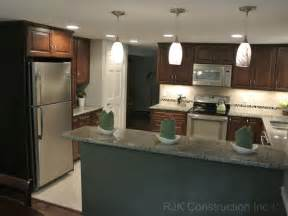 galley style kitchen remodel ideas u shaped kitchen remodel contemporary kitchen dc metro by rjk construction inc