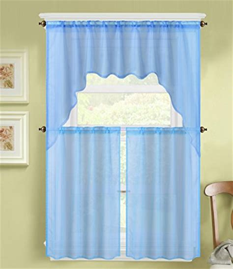 swag ls for sale top 5 best kitchen curtains valances and swags blue for