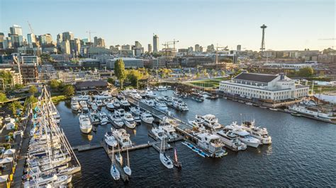 Seattle Boat Show Location by South Lake Union With Free Weekend Parking Seattle